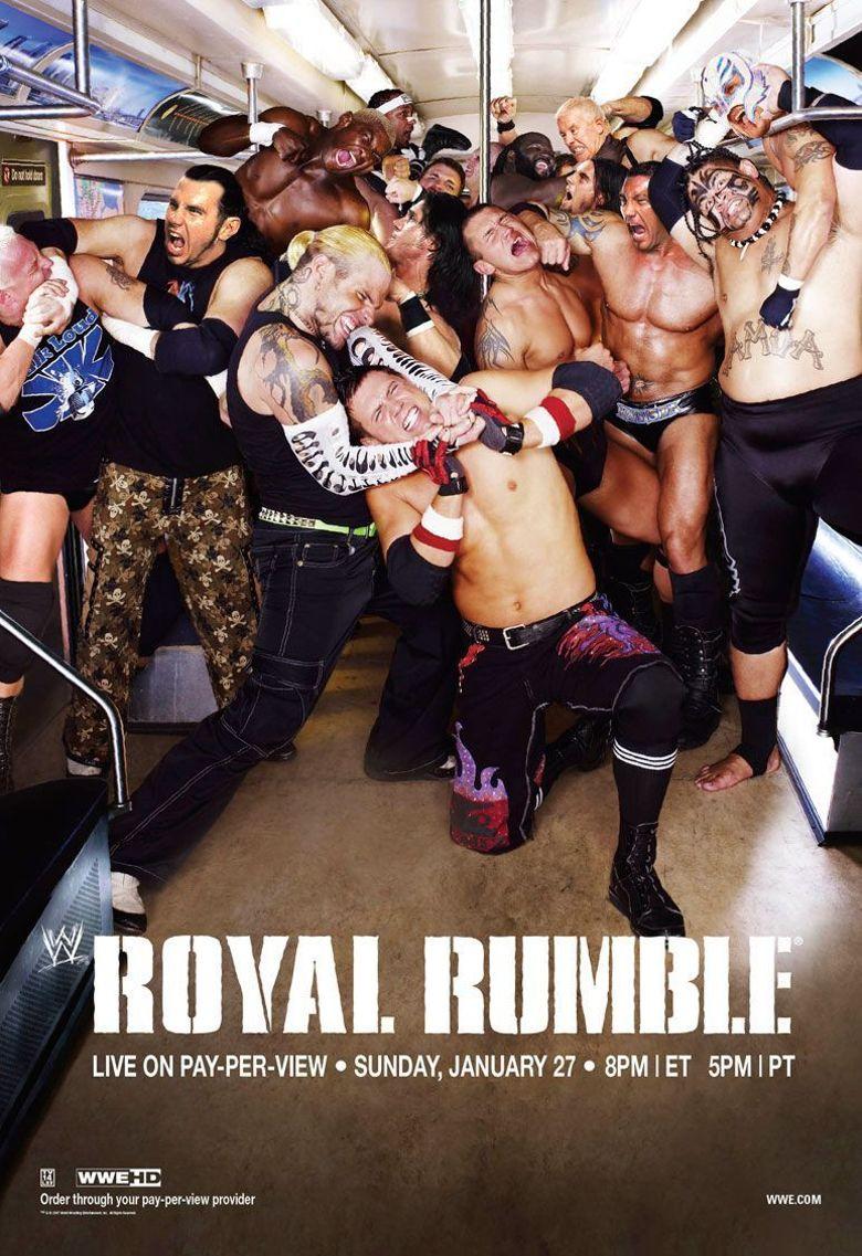 WWE Royal Rumble 2008 Poster