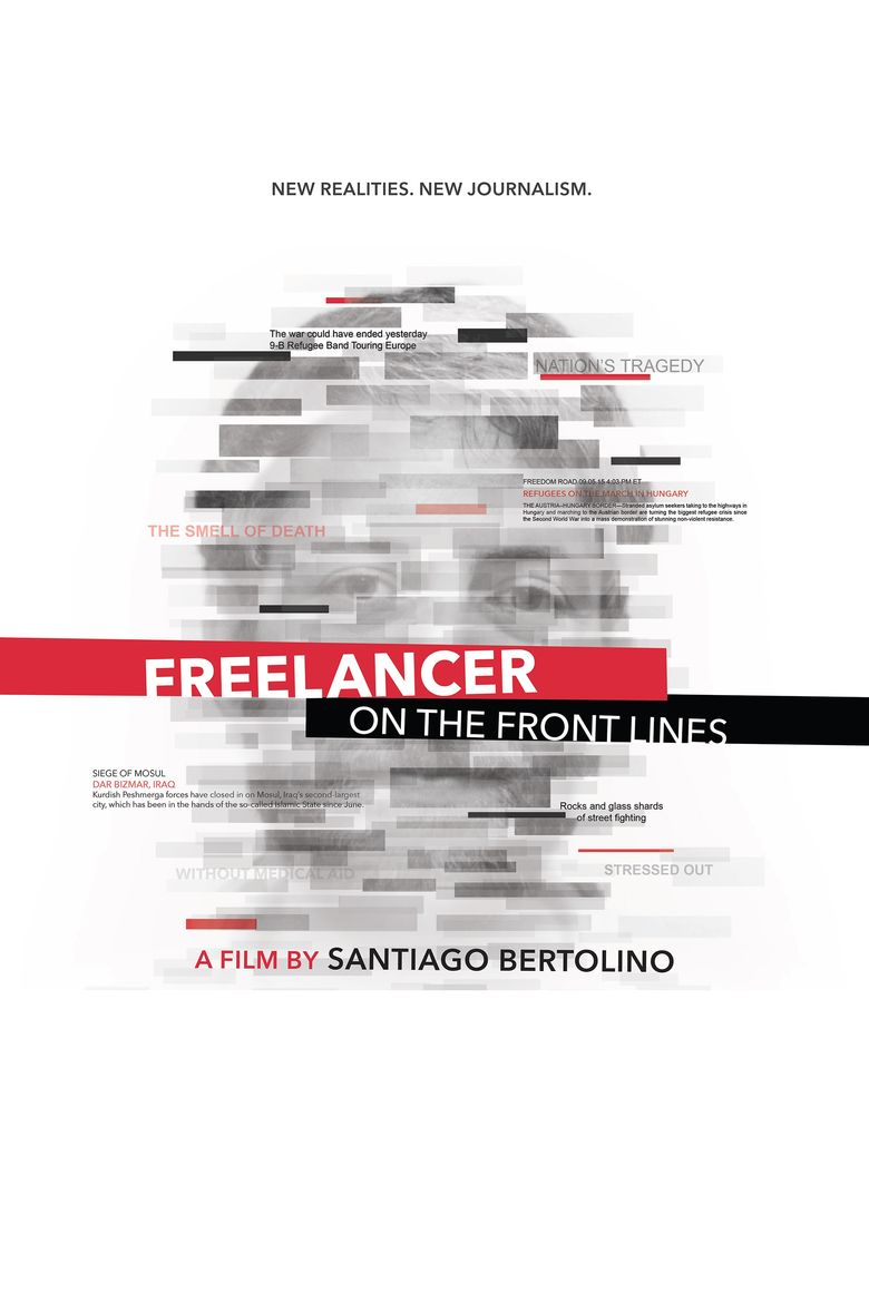 Freelancer on the Front Lines Poster