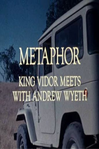 Metaphor: King Vidor Meets with Andrew Wyeth Poster