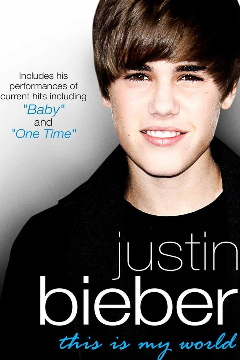 Justin Bieber - This Is My World Poster
