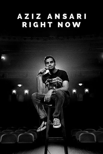 Aziz Ansari: Right Now Poster
