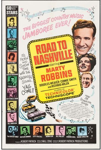 The Road to Nashville Poster