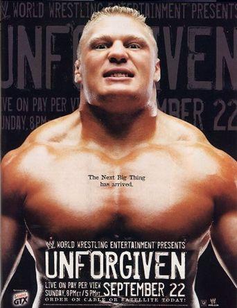 WWE Unforgiven 2002 Poster