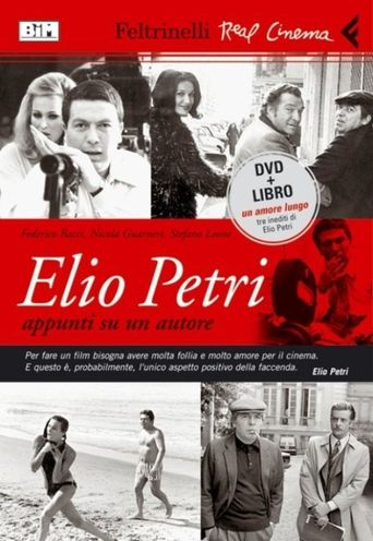 Elio Petri: Notes About a Filmmaker Poster