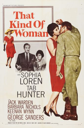 That Kind of Woman Poster