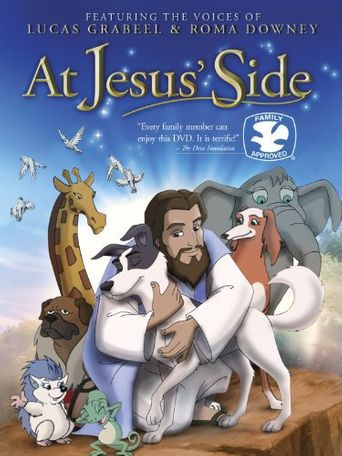 At Jesus' Side Poster