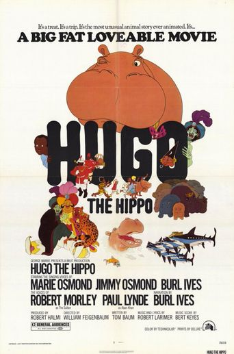 Hugo the Hippo Poster