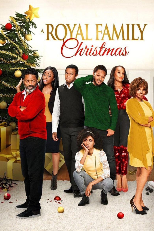 A Royal Family Christmas Poster