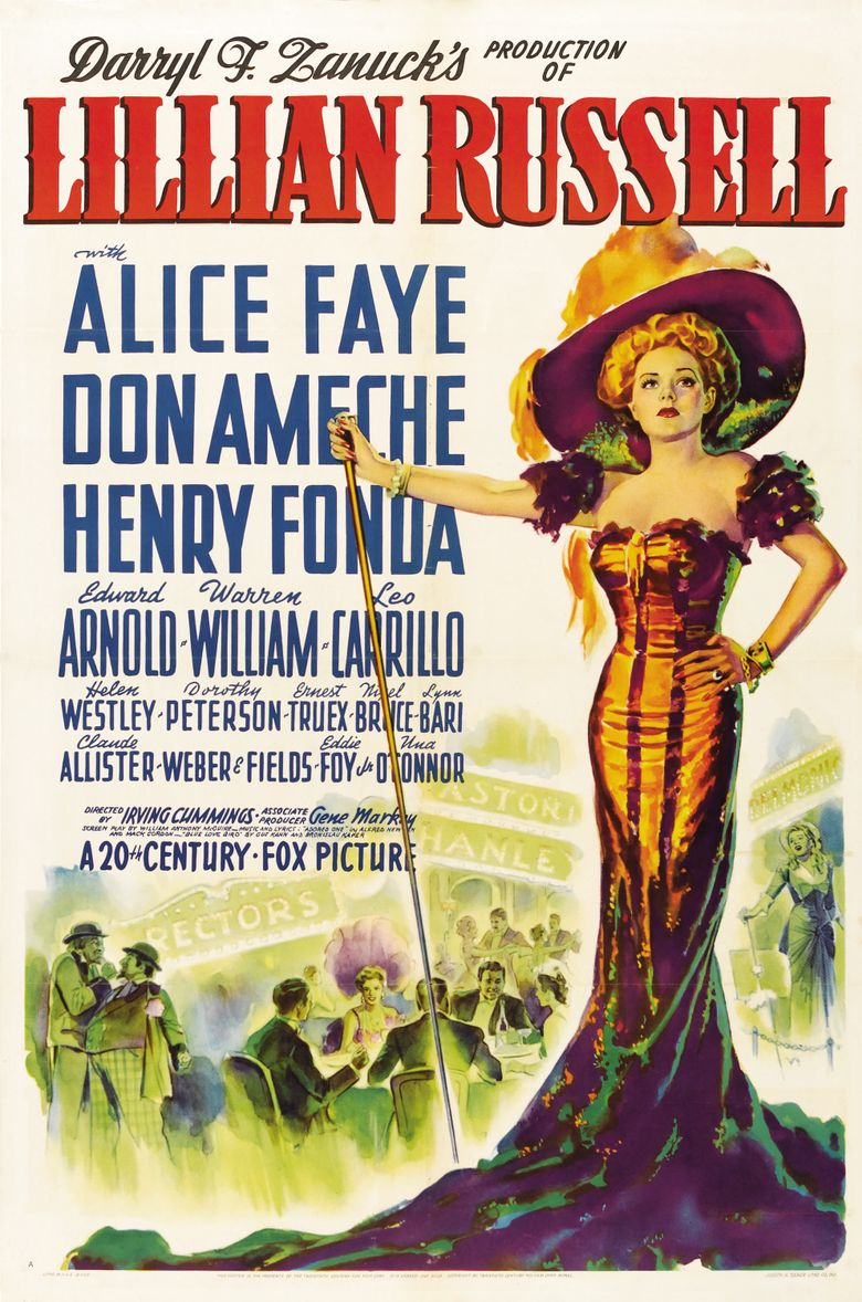 Lillian Russell Poster