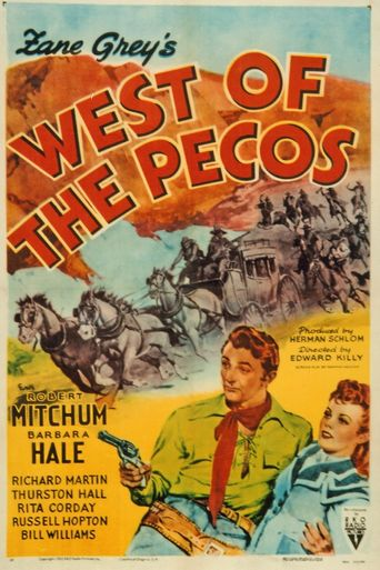West of the Pecos Poster