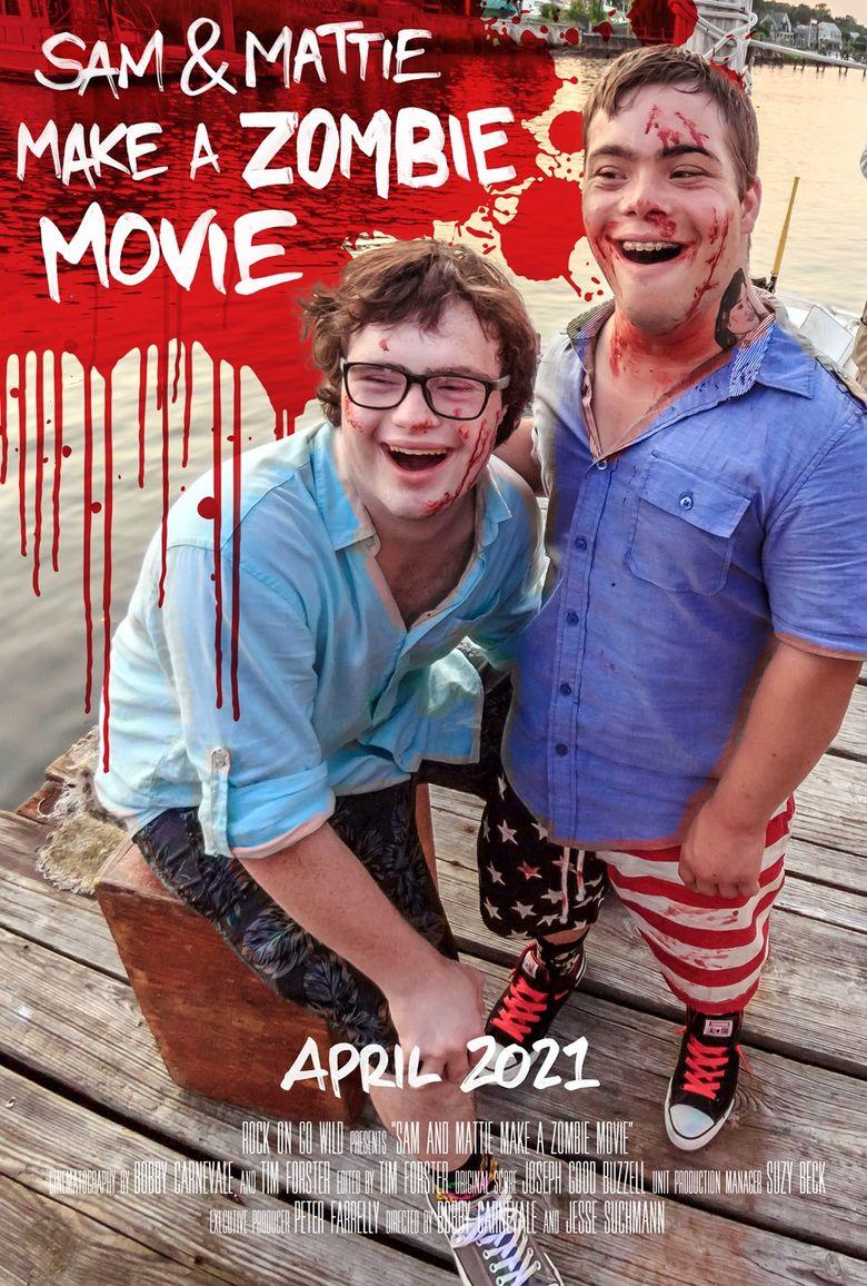 Sam & Mattie Make A Zombie Movie Poster