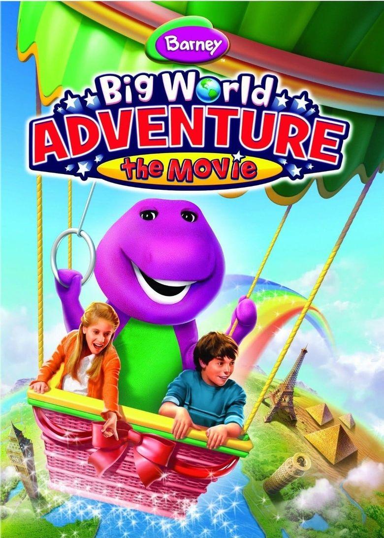 Barney Big World Adventure The Movie Poster