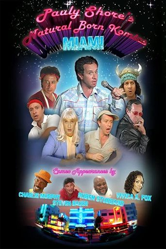 Pauly Shore's Natural Born Komics: Miami Poster