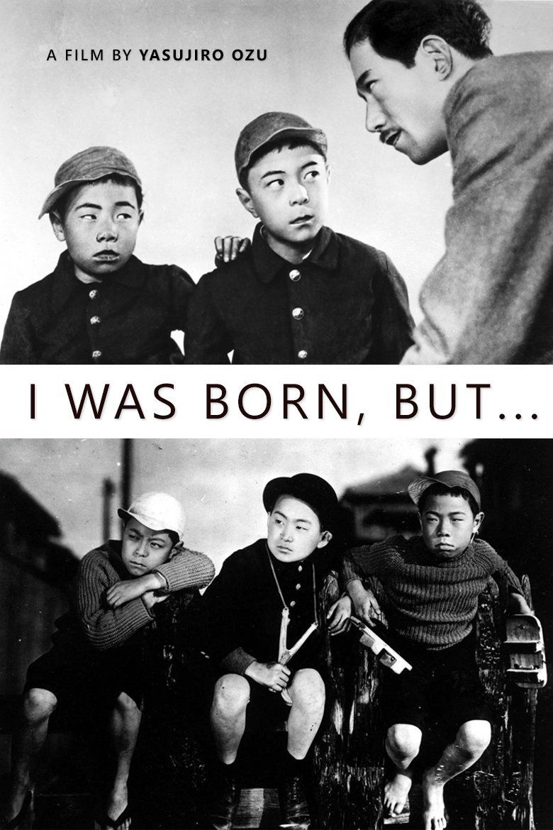 I Was Born, But... Poster