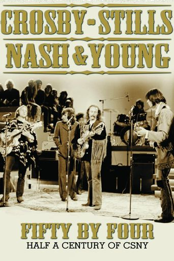 CSNY: Fifty by Four Poster