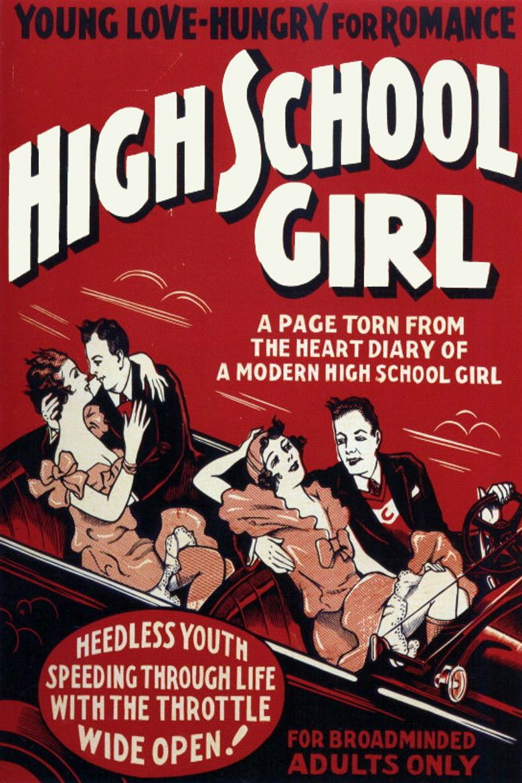 High School Girl Poster