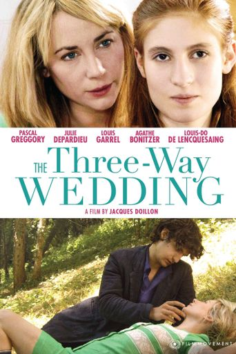 The Threeway Wedding Poster