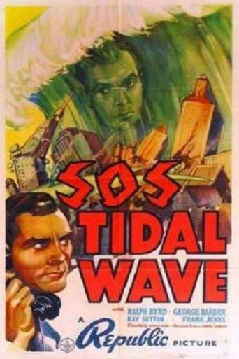 S.O.S Tidal Wave Poster