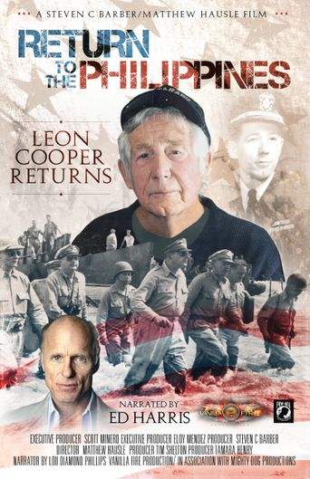 Return to the Philippines, the Leon Cooper Story Poster