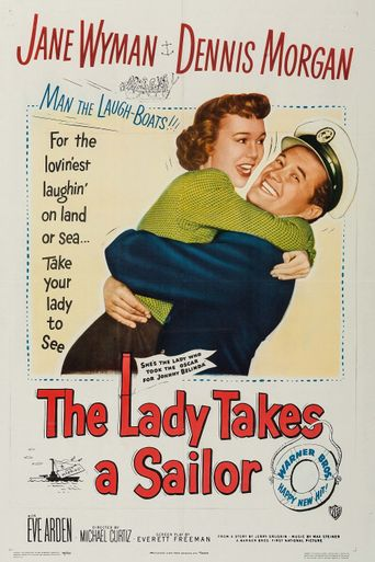 The Lady Takes a Sailor Poster