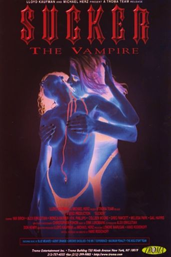 Sucker: The Vampire Poster