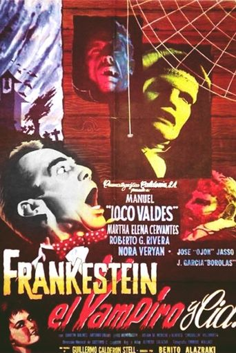 Frankenstein, the Vampire and Company Poster