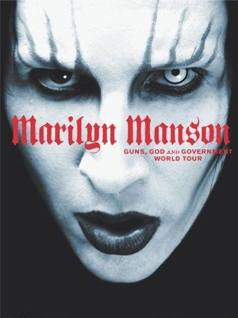 Marilyn Manson - Guns, God and Government World Tour Poster