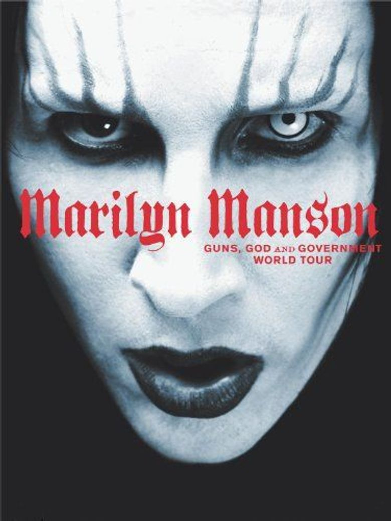 Marilyn Manson: Guns, God and Government World Tour Poster