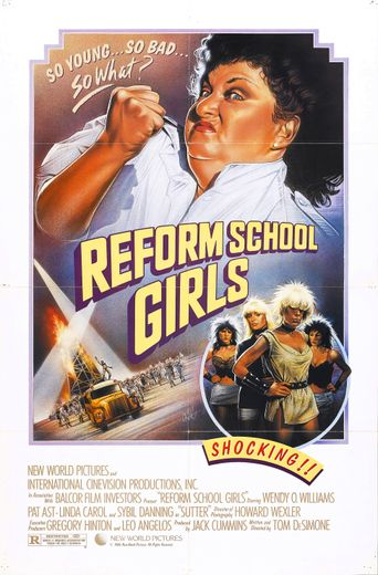 Reform School Girls Poster