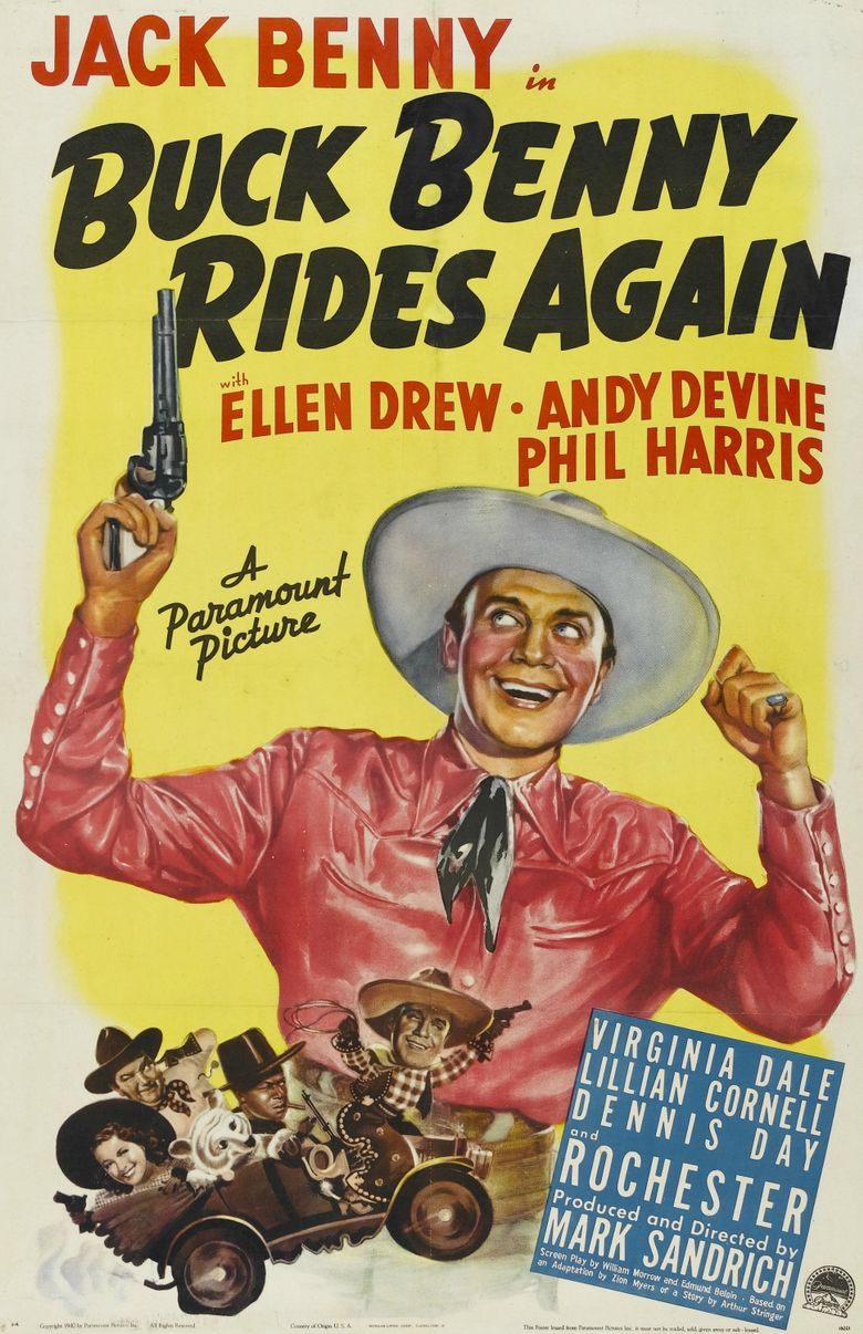 Buck Benny Rides Again Poster