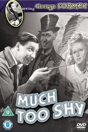 Much Too Shy Poster