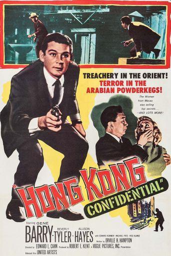 Hong Kong Confidential Poster