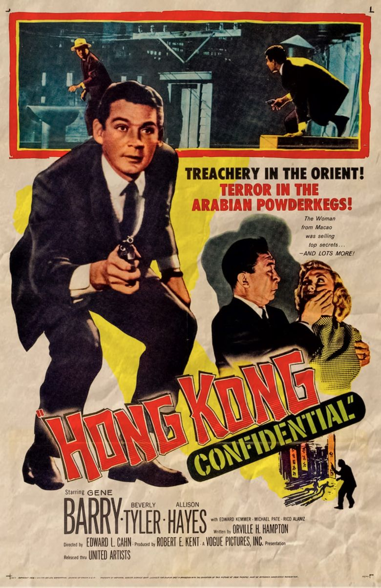 Hong Kong Confidential Poster
