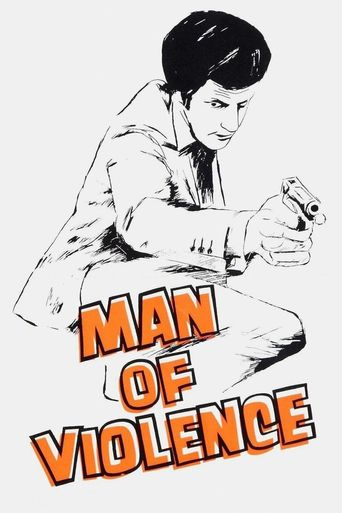 Man of Violence Poster