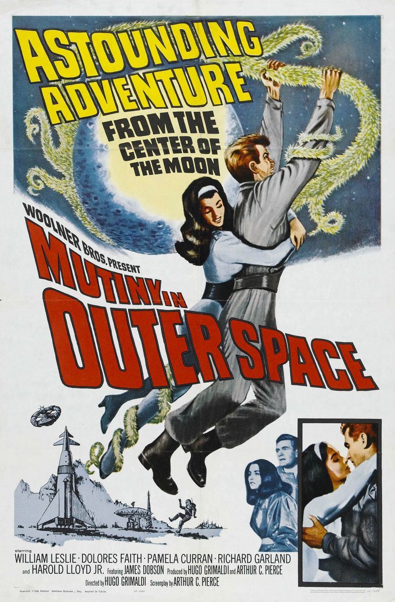 Mutiny in Outer Space Poster