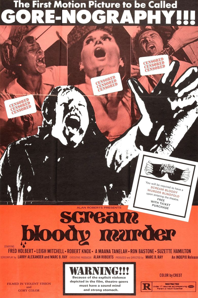 Scream Bloody Murder Poster