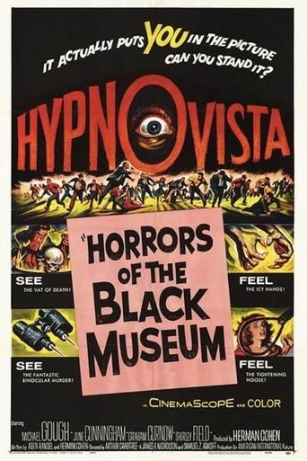 Horrors of the Black Museum Poster