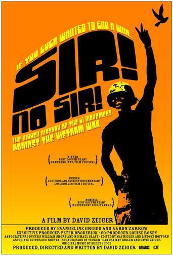 Sir! No Sir! Poster