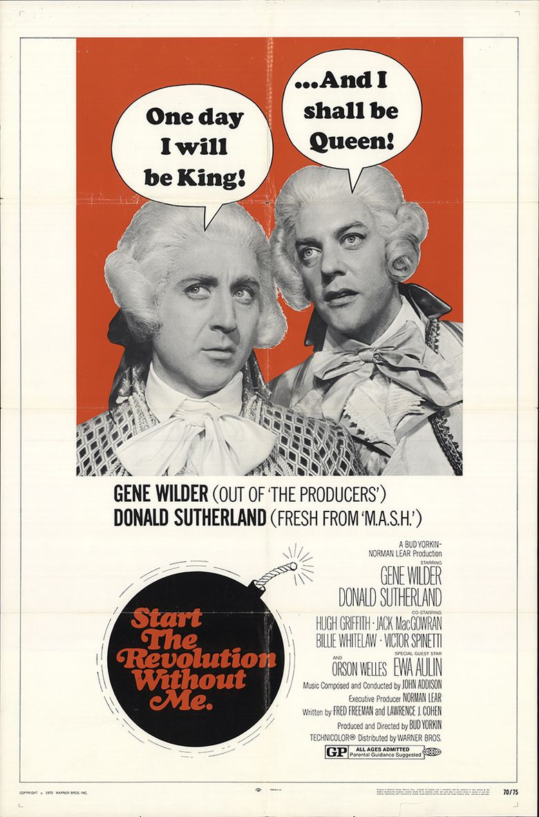 Start the Revolution Without Me Poster
