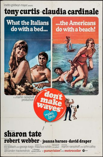 Don't Make Waves Poster