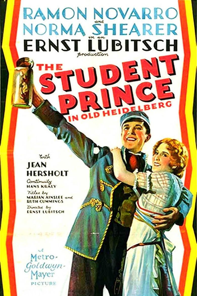 The Student Prince in Old Heidelberg Poster