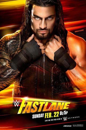 WWE Fastlane 2015 Poster