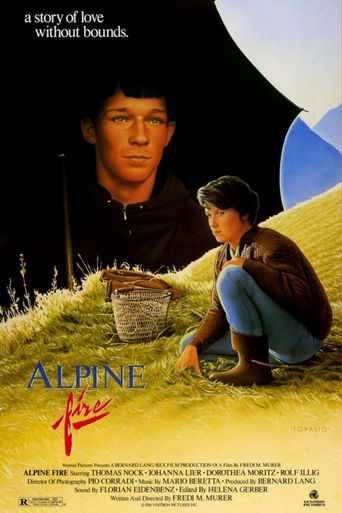 Alpine Fire Poster