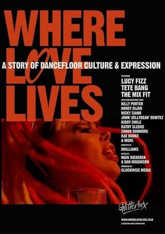 Where Love Lives: A Story of Dancefloor Culture & Expression Poster