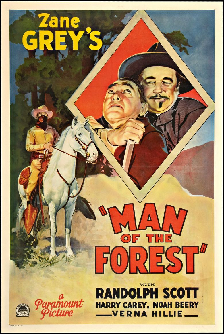Man of the Forest Poster