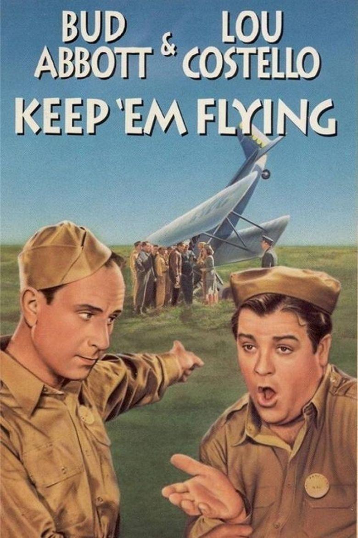 Keep 'Em Flying Poster
