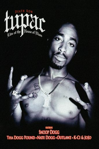 Tupac: Live at the House of Blues Poster