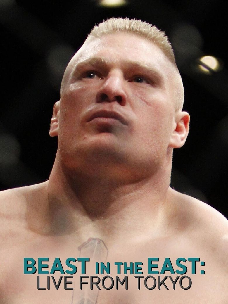WWE The Beast in the East Poster