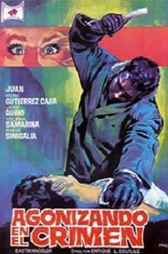 Agonizing in Crime Poster