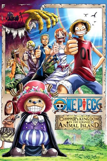One Piece: Chopper's Kingdom on the Island of Strange Animals Poster